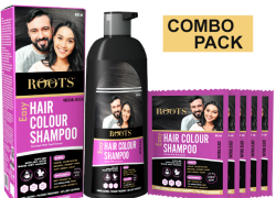 Roots Hair Color Shampoo (Combo Pack)